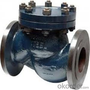 API Cast Steel Lift Check Valve Size 180 mm