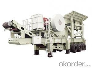Crawler Type Mobile Jaw Crusher / Impact Crusher
