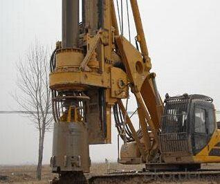 SERIE OTR180D OTR HYDRAULIC PILING RIG MACHINE