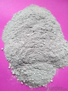 Magnesite zirconia fire clay for refractory use