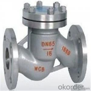 API Cast Steel Lift Check Valve Size 100 mm