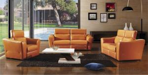 Modern and Fashion Design,Genuine Leather or PU Sofa