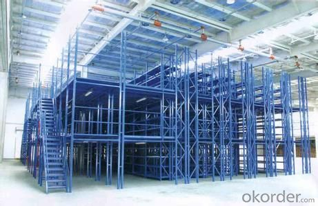 Mezzanine Type Racking System for Warehouse