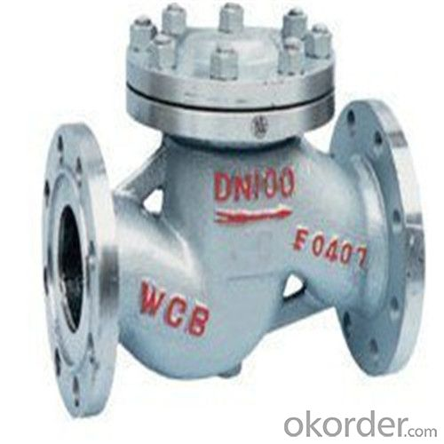 API Cast Steel Lift Check Valve Size 250 mm