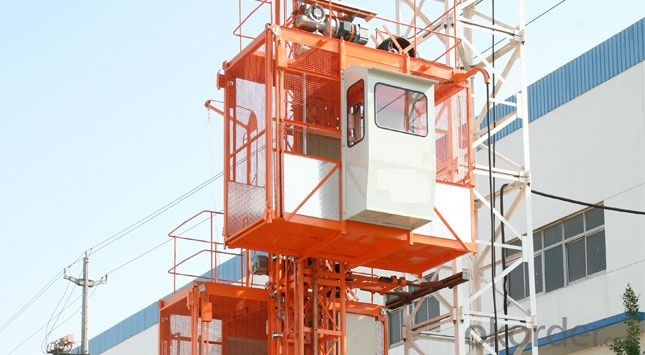 Building Hoist SC200/200 Elevator Three-drive 800