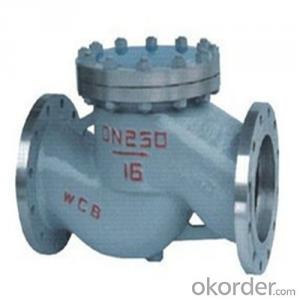 API Cast Steel Lift Check Valve Size 350 mm
