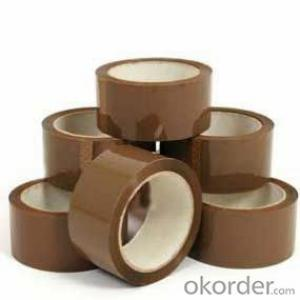 Yellow BOPP Tape Colorful Adhesive Tape for Packing