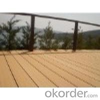 WPC Waterproof Outdoor Deck Flooring FROM China