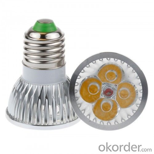LED  GU10 Spotlight, 4W 220V Dimmable With CE 3-Year Warranty