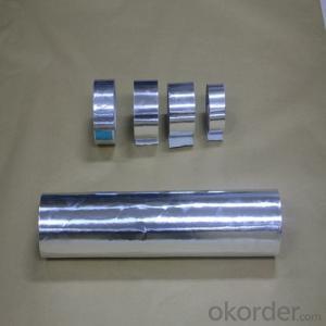 Aluminum Foil Tape Solvent-Based Adhesive T-S3501P
