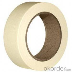 White  Masking Tape Crepe Paper Tape For Paining