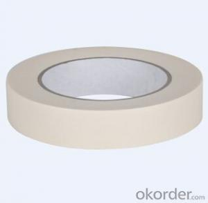 Crepe Paper Masking Tape White Color Tape For Paining
