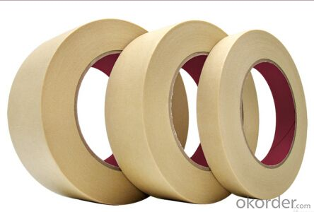 Masking Tape Jumbo Roll White Color Tape Custom Made Tape