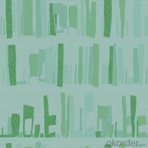PVC Wallpaper New Design Deep Embossed Modern Style Wallpaper