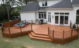 Crack-resistant Outdoor Co-extrusion Wpc Decking