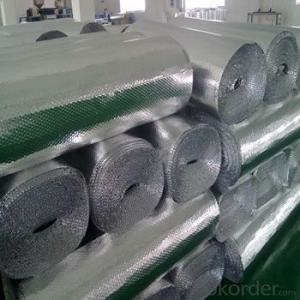 aluminum foil with LDPE film for bubble foil facing production