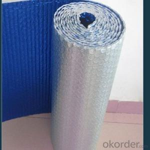 aluminum foil with LDPE heat seal for bubble foil facing production