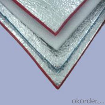 aluminum foil with PET + LDPE for bubble foil roofing insulation production