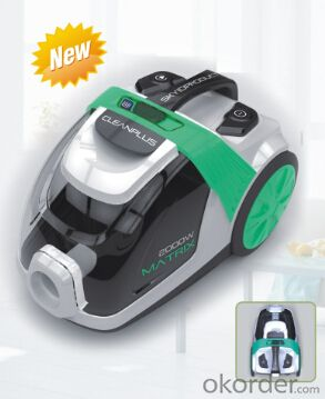 Bagless vacuum cleaner with ERP Class#CNBL3810