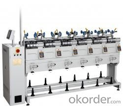 High Speed Textile Rewinder Machinery  for Winding Yarn
