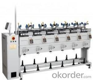 High Speed Textile Rewind Machine  for Winding Yarn