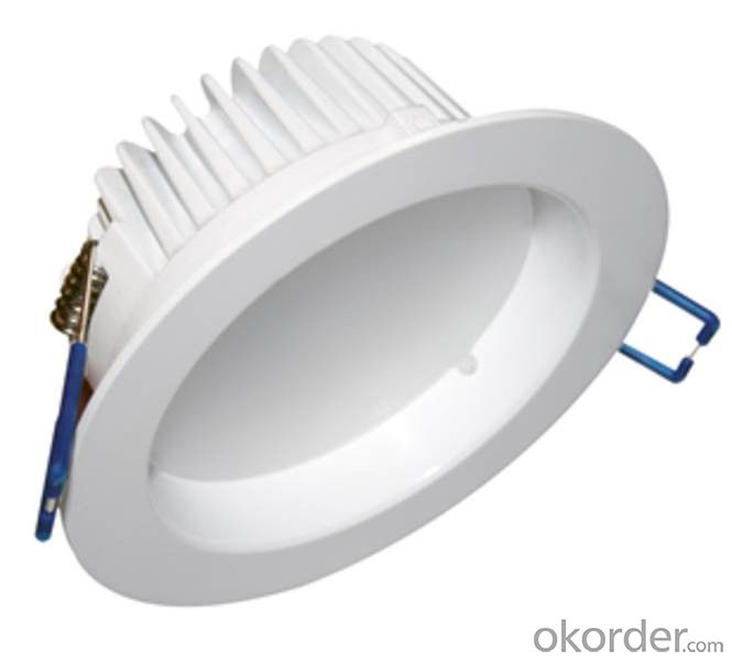 LED Dimmable Downlight 10-50W 3 colors in one fitting CE, SAA