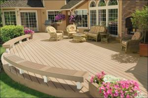 WPC Decking / Hot Sell Traditional Anti-aging WPC Eco Deck
