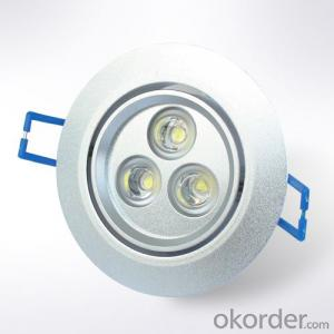 LED Downlight  high quality 3w  high power dimmable