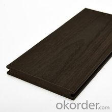 crack-resistant outdoor co-extrusion wpc decking/plastic composite decking