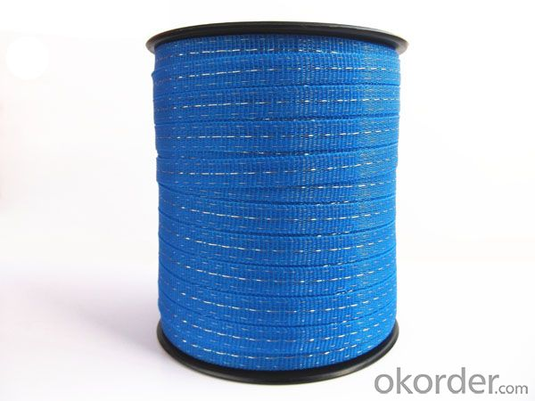 Electric Fence Poly Tape for Horse Fence Thickness 0.4mm