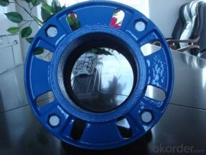 Ductile Iron Pipe Fitting Double Flanged Bend ISO2531/EN545 DN1400