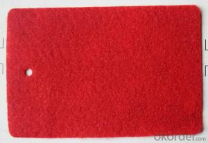 Velour and Plain Surface Wall to Wall Carpet Polyester non Woven