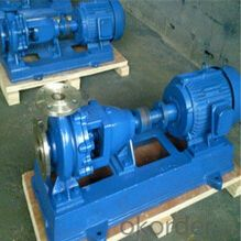 Single Stage Horizontal Corrosive Chemical Pump