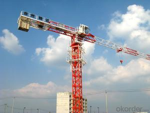 construction machinery tower crane/tower crane with CE ISO certificate PT4870