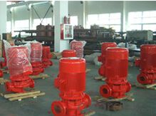 Single Stage Single Suction Inline Pump for  Fire Fighting