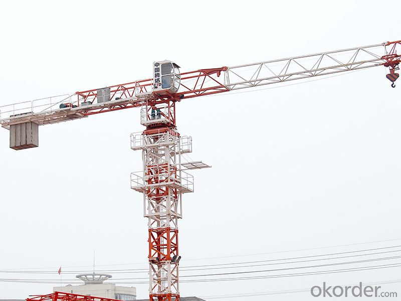 PT5210  5T tower crane with CE ISO certificate