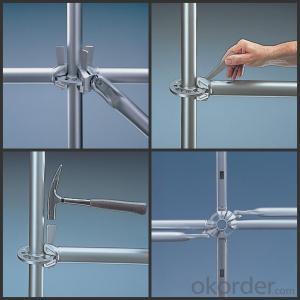 Ringlock Scaffold Q235/345 Steel Galvanized