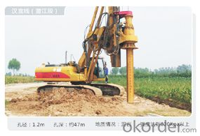 OTR250DM Multifunctional rotary drilling
