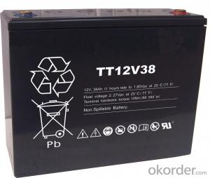 Lead Acid Battery TT Series Battery   TT12V93