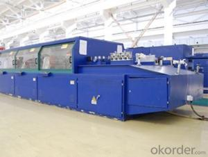 Paper wrapping machine for copper conductors