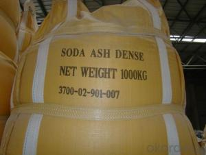 Soda Ash with the Number One Quality in China and with the Very Good Price