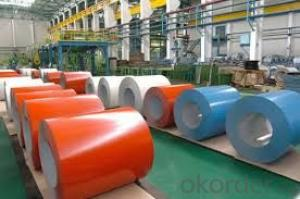 Prepainted Cold Rolled Galvanized Steel Sheet Coil