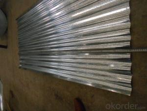 Corrugated Hot Dipped Galvanized Steel Sheets