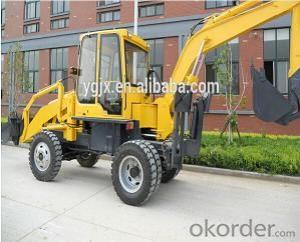 Mini Backhoe Loader WZL25-10 with 6 ton Rated Load