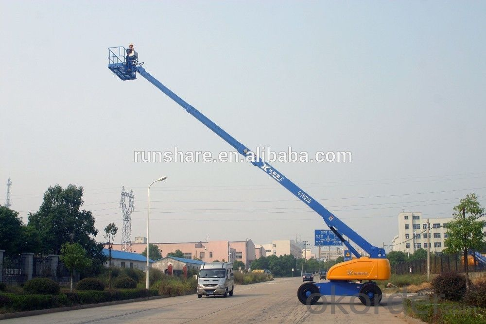 Telescopic boom lift range from 16m to 43m