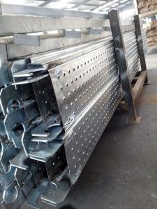 Galvanized Steel Scaffold  Plank / Aluminum Deck
