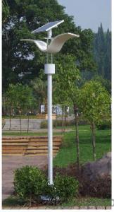 3.5M 20W LED Solar Garden Light, Solar Courtyard Light