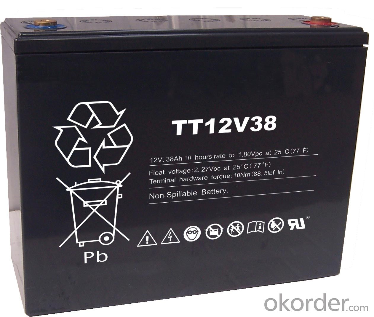 Lead Acid Battery TT Series Battery  TT12V62