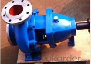 Chemical Pump with DIN Standard for Corrosive Medium