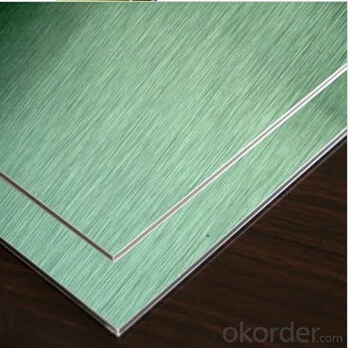 Brushed Aluminum Composite Panel for Decoration